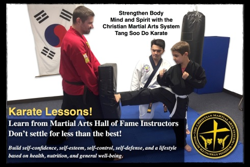 New Karate Postcard 4x6 Front